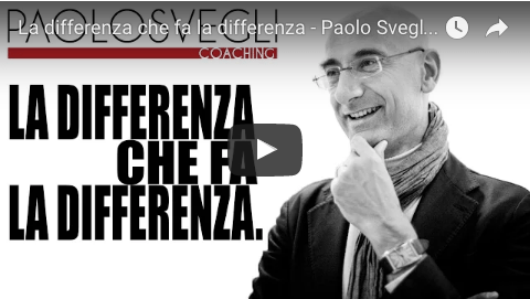 Differenza che fa la differenza - video Paolo Svegli